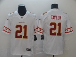 Mens Nfl Washington Redskins #21 Sean Taylor White Team Logo Cool Edition Vapor Untouchable Limited Jerseys