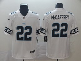 Mens Nfl Carolina Panthers #22 Christian Mccaffrey White Team Logo Cool Edition Vapor Untouchable Limited Jerseys