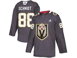 Mens Nhl Vegas Golden Knights #88 Nate Schmidt Gray Latin Edition Adidas Jersey