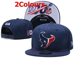 Mens Nfl Houston Texans Red&blue 100th Snapback Adjustable Hats 2 Colors