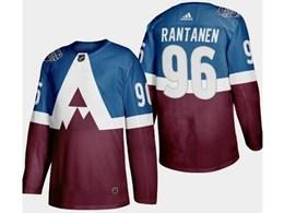 Mens Nhl Colorado Avalanche #96 Mikko Rantanen Blue 2020 Stadium Series Stitched Adidas Jersey