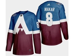 Mens Nhl Colorado Avalanche #8 Cale Makar Blue 2020 Stadium Series Stitched Adidas Jersey