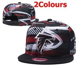 Mens Nfl Atlanta Falcons Multicolour Snapback Adjustable Hats  2 Colors