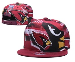 Mens Nfl Arizona Cardinals Multicolour Snapback Adjustable Hats