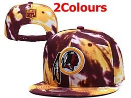 Mens Nfl Washington Redskins Colorful Snapback Hats 2 Colors