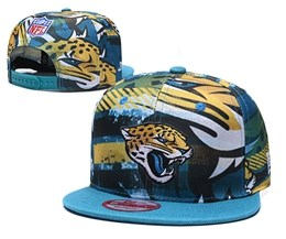 Mens Nfl Jacksonville Jaguars Multicolour Snapback Adjustable Hats