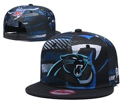 Mens Nfl Carolina Panthers Multicolour Snapback Adjustable Hats