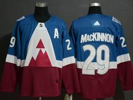 Mens Nhl Colorado Avalanche #29 Nathan Mackinnon Blue 2020 Stadium Series Stitched Adidas Jersey