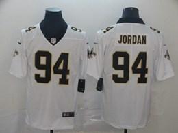 Mens Nfl New Orleans Saints #94 Cameron Jordan White Vapor Untouchable Limited Jersey