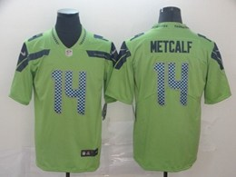 Mens Nfl Seattle Seahawks #14 Dk Metcalf Green Vapor Untouchable Limited Jerseys