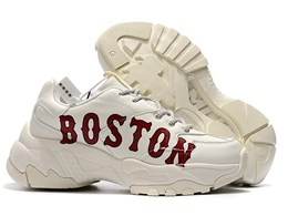 Men And Women Mlb Boston Red Sox Big Ball Chunky P Running White Shoes