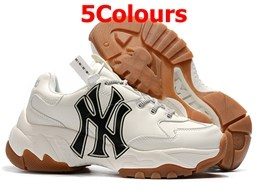 Mens And Women Mlb New York Yankees Big Ball Chunky P Running Shoes 5 Colours