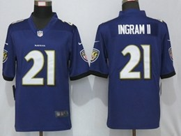 Mens Nfl Baltimore Ravens #21 Mark Ingram Ii Purple Vapor Untouchable Limited Player Jersey