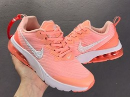 Women Nike Air Max New Running Shoes Have The Half Size Pink Color