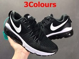 Mens And Women Nike Half Palm Air Max Running Shoes 3 Colors