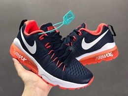 Women Nike Half Palm Air Max Running Shoes One Color