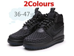 Mens And Women Nike Air Force 2 High Running Shoes 2 Colors