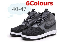 Mens Nike Air Force 2 High Running Shoes 6 Colors