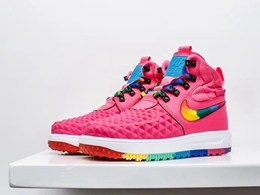 Women Nike Air Force 2 High Running Colorful Shoes