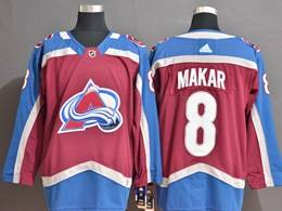 Mens Nhl Colorado Avalanche #8 Cale Makar Red Adidas Jersey