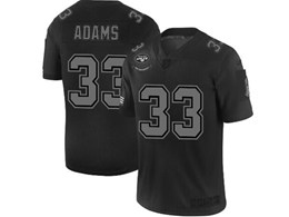 Mens Nfl New York Jets #33 Jamal Adams Black Olive 2019 Salute To Service Game Jersey