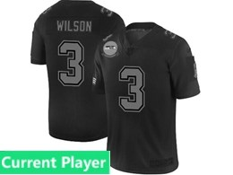 Mens Nfl Seattle Seahawks Current Player Black Olive 2019 Salute To Service Game Jersey