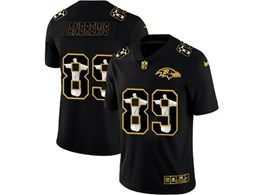 Mens Nfl Baltimore Ravens #89 Mark Andrews Black Jesus Faith Vapor Untouchable Limited Jerseys