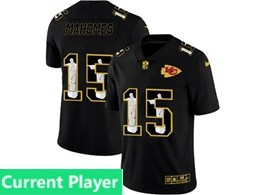 Mens Nfl Kansas City Chiefs Current Player Black Jesus Faith Vapor Untouchable Limited Jerseys