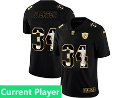 Mens Nfl Oakland Raiders Current Player Black Jesus Faith Vapor Untouchable Limited Jerseys