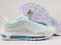 Mens And Women Nike Air Max 97 New Running Shoes One Color
