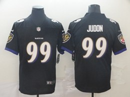 Mens Baltimore Ravens #99 Judon Black Vapor Untouchable Limited Jersey