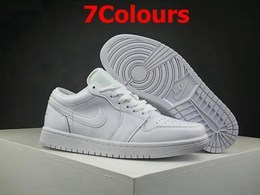 Mens And Women Jordan 1 And Nike Patch Running Shoes 7 Colors