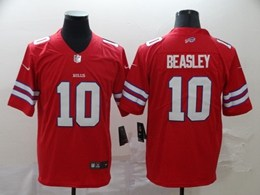 Mens Nfl Buffalo Bills #10 Cole Beasley Red Vapor Untouchable Limited Jerseys