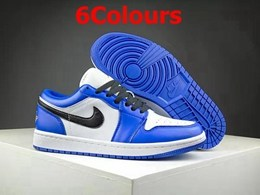 Mens And Women Jordan 1 And Nike Patch Running Shoes 6 Colors