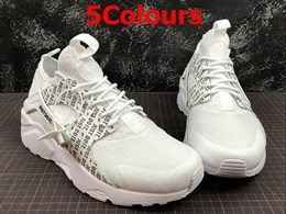 Mens And Women Nike Air Huarache 4 Mesh Ventilation Running Shoes 5 Colors