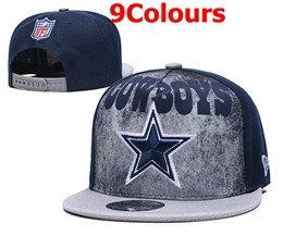 Mens Nfl Dallas Cowboys New Snapback Adjustable Hats 9 Colors