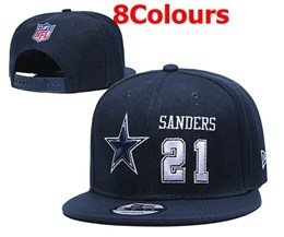 Mens Nfl Dallas Cowboys New Snapback Adjustable Hats 8 Colors