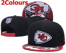 Mens Nfl Kansas City Chiefs Red&black&white New Snapbackhats 2 Colors