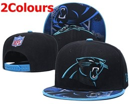 Mens Nfl Carolina Panthers Blue&black New Snapback Adjustable Hats 2 Colors
