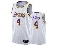 Mens 2019-20 Nba Los Angeles Lakers #4 Alex Caruso White Nike Swingman Jersey