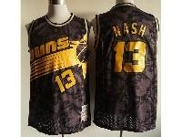 Mens Nba Phoenix Suns #13 Steve Nash Black 1996-97 Hardwood Classics Swingman Jersey