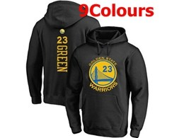 Mens Nba Golden State Warriors #23 Draymond Green Hoodie Jersey With Pocket 9 Colors