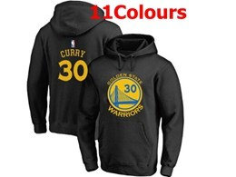 Mens Nba Golden State Warriors #30 Stephen Curry Hoodie Jersey With Pocket 11 Colors