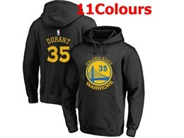Mens Nba Golden State Warriors #35 Kevin Durant Hoodie Jersey With Pocket 11 Colors