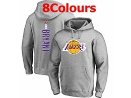 Mens Nba Los Angeles Lakers #8 Kobe Bryant Hoodie Jersey With Pocket 8 Colors