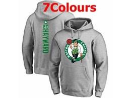 Mens Nba Boston Celtics #20 Gordon Hayward Hoodie Jersey With Pocket 7 Colors