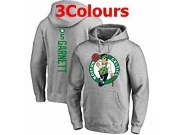Mens Nba Boston Celtics #5 Garnett Hoodie Jersey With Pocket 3 Colors