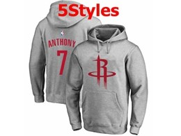 Mens Nba Houston Rockets #7 Anthony Gray Hoodie Jersey With Pocket 5 Styles