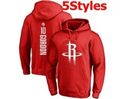 Mens Nba Houston Rockets #10 Gordon Red Hoodie Jersey With Pocket 5 Styles