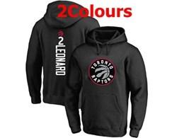 Mens Nba Toronto Raptors #2 Kawhi Leonard Hoodie Jersey With Pocket 2 Colors